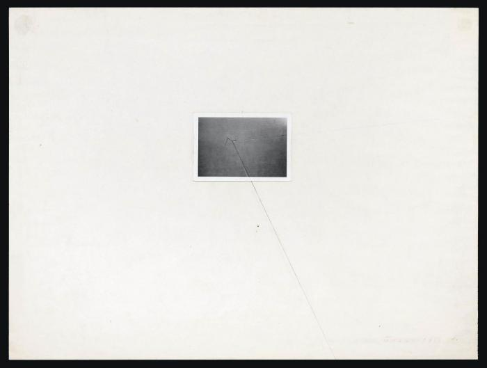 John Baldessari-Extended: Wire-1974