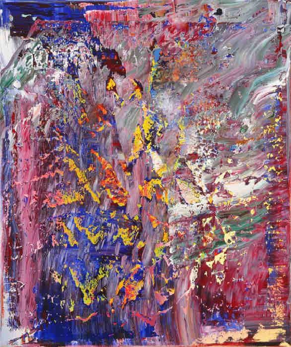 Gerhard Richter-Abstraktes Bild 703-5 (Abstract Painting 703-5)-1989