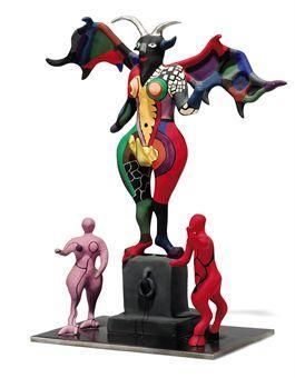 Niki de Saint Phalle-Le diable-1985