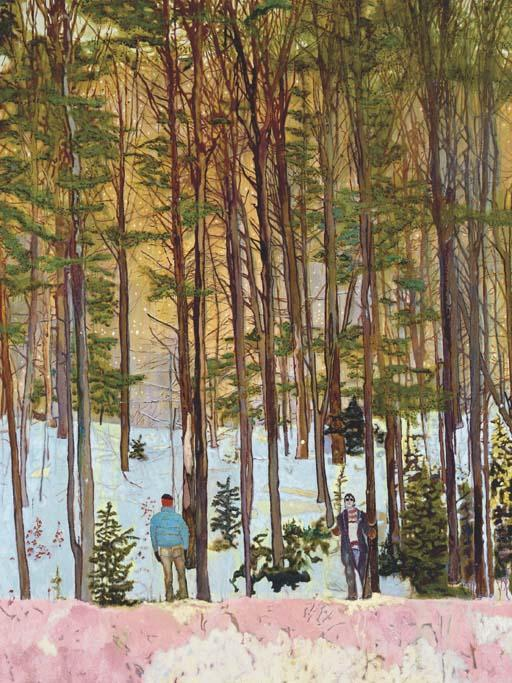 Peter Doig-Figures in Trees-1998