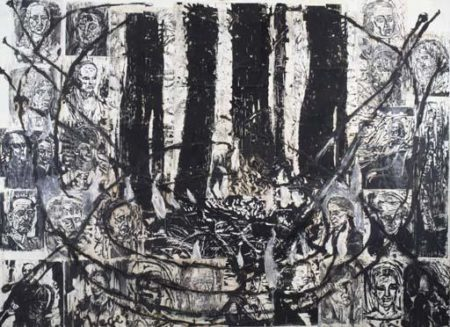 Anselm Kiefer-Teutoburger Wald, Wege der Weltweisheit (Teutoburger Forest, Paths of Philosophy)-1981
