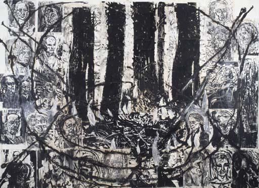 Anselm Kiefer-Teutoburger Wald, Wege der Weltweisheit (Teutoburger Forest, Paths of Philosophy)-1981