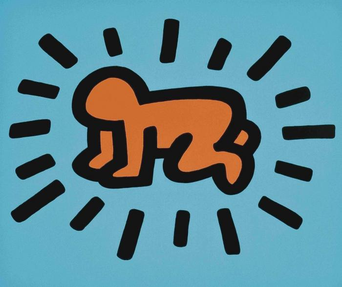 Keith Haring-Keith Haring - One plate, from Icons-1990