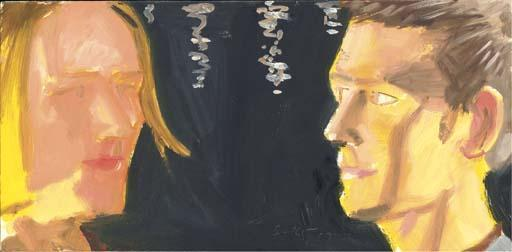 Alex Katz-Sebastian and Lucas-1997