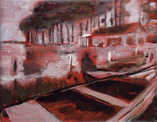 Peter Doig-French Landscape-1995