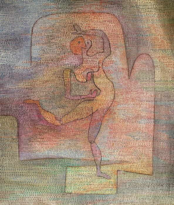Paul Klee-Tanzerin-1932