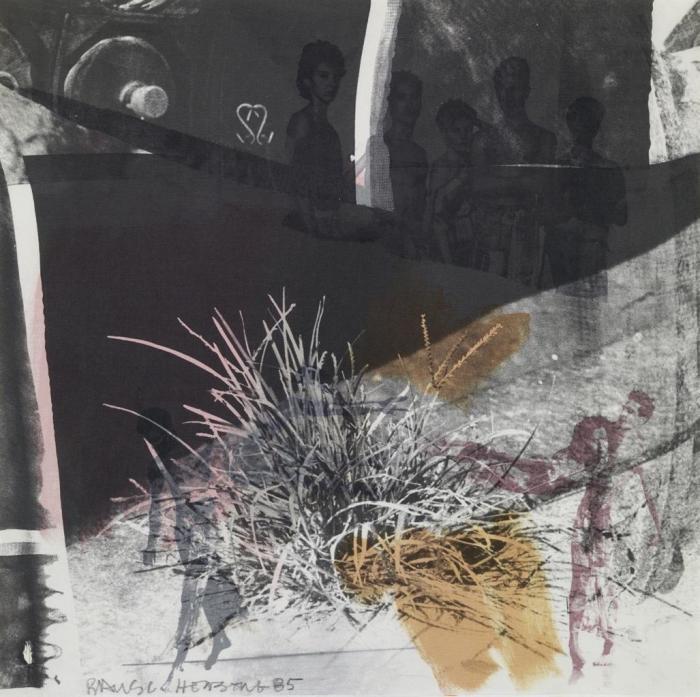Robert Rauschenberg-Robert Rauschenberg - Untitled-1985