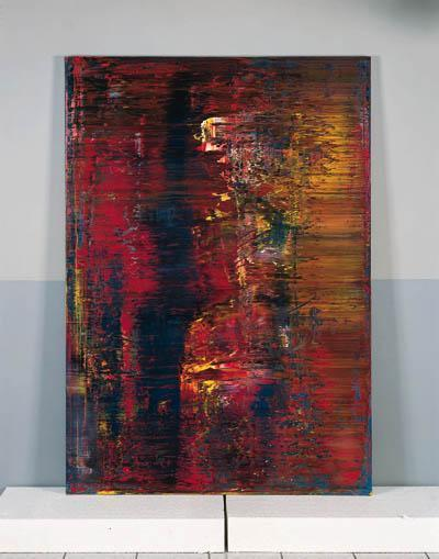 Gerhard Richter-Abstraktes Bild 643-3 (Abstract Painting 643-3)-1987