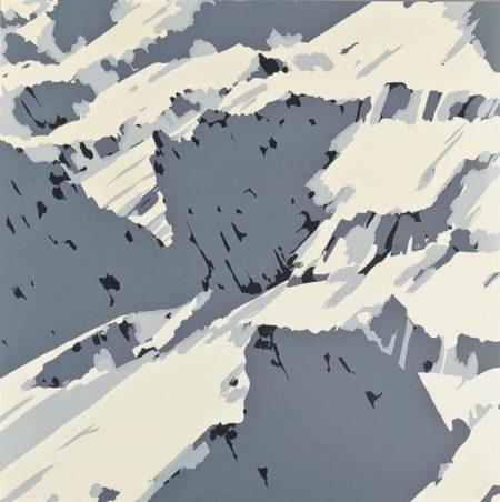 Gerhard Richter-Schweizer Alpen I B1 (Swiss Alps I B1)-1969