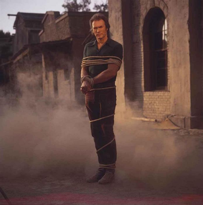 Annie Leibovitz-Clint Eastwood, Burbank, California-1980