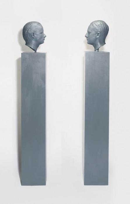 Gerhard Richter-Two Sculptures for a Room by Palermo-1971