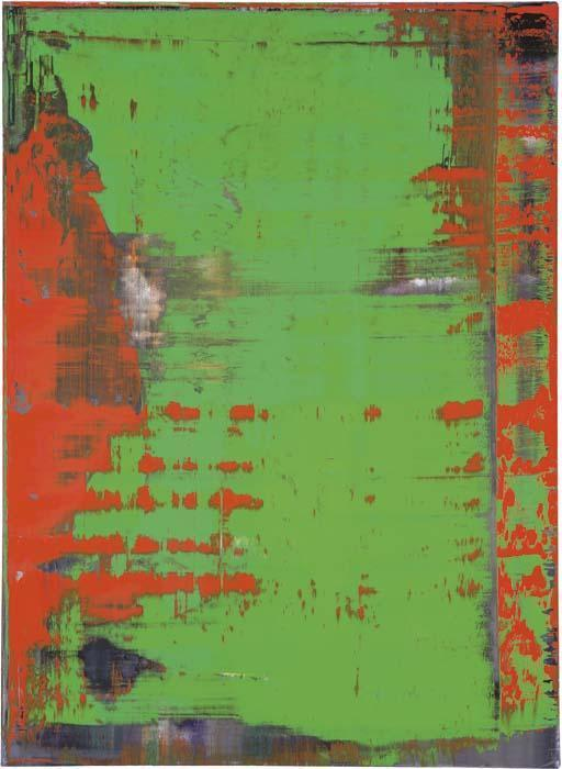 Gerhard Richter-Abstraktes Bild 836-6 (Abstract Painting 836-6)-1996