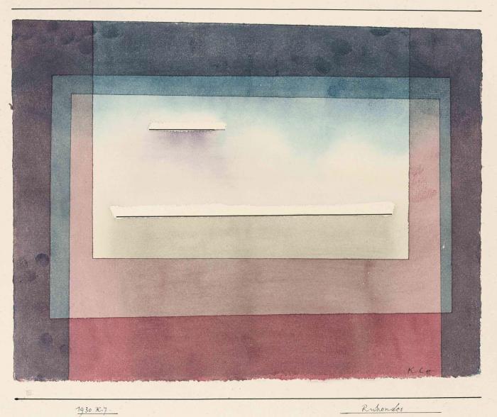 Paul Klee-Ruhendes-1930
