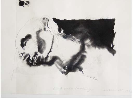 Marlene Dumas-Dead Man dreaming-2003