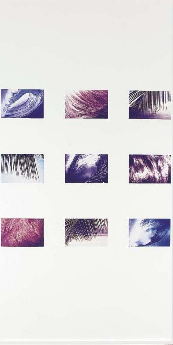 Richard Prince-Bangs, Waves, Palms-1987