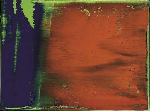 Gerhard Richter-Grun-Blau-Rot (Green-Blue-Red)-1993