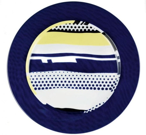 Roy Lichtenstein-Abstract Plate-