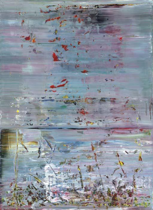 Gerhard Richter-Abstraktes Bild 721-3 (Abstract Painting 721-3)-1990