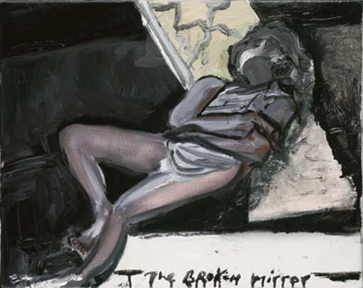 Marlene Dumas-The Broken Mirror-1989