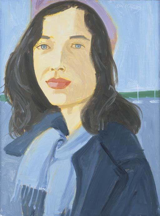 Alex Katz-Ellen-2003