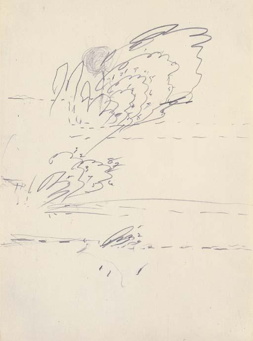 Cy Twombly-Untitled-1961