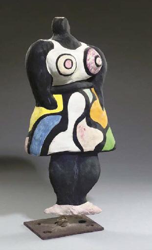 Niki de Saint Phalle-Nana moyenne Waldaff-1967