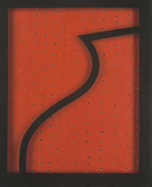 Lucio Fontana-Concetto spaziale - Teatrino-1962