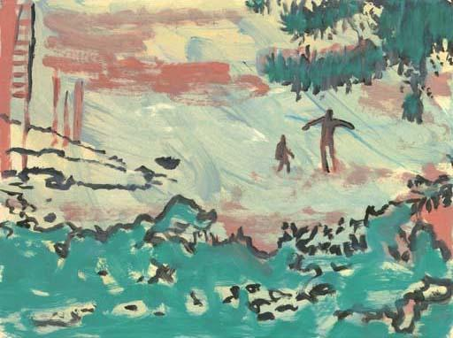Peter Doig-Untitled / Landscape-1996