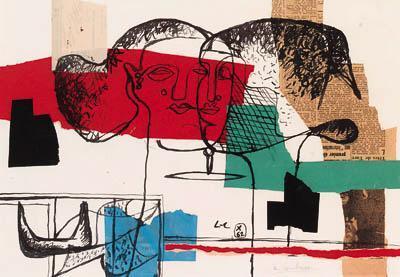 Le Corbusier-Deux tetes-1962