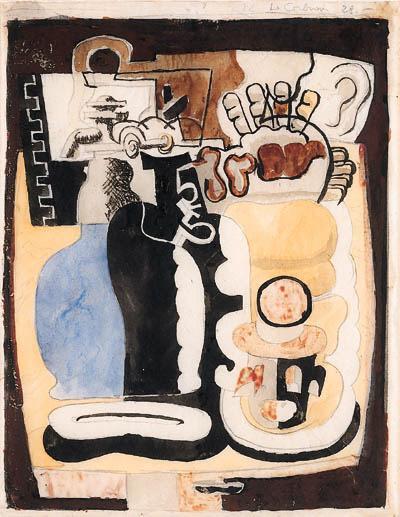 Le Corbusier-Siphon et bocks-1928