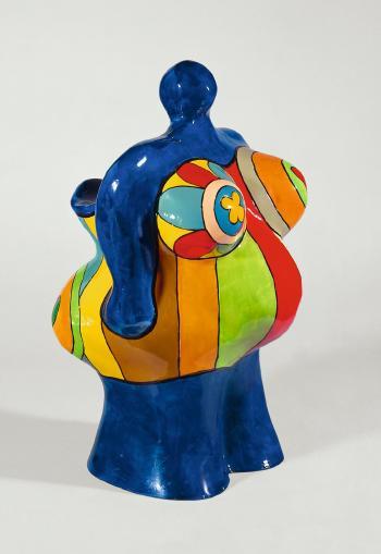Niki de Saint Phalle-Nana-Vase, (Vase Nana)-1987