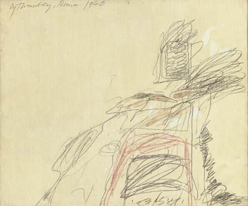 Cy Twombly-Rome-1960