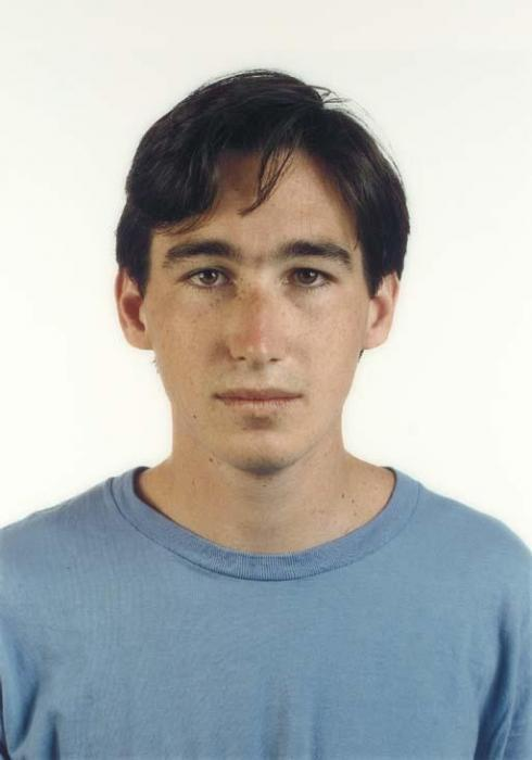 Thomas Ruff-Portrait, J.Bloom-1989