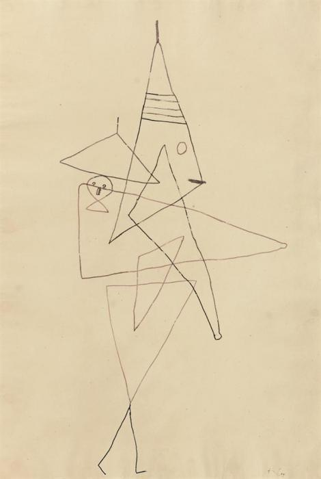 Paul Klee-Clown Mama-1930