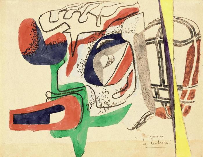 Le Corbusier-Tete de taureau-1940