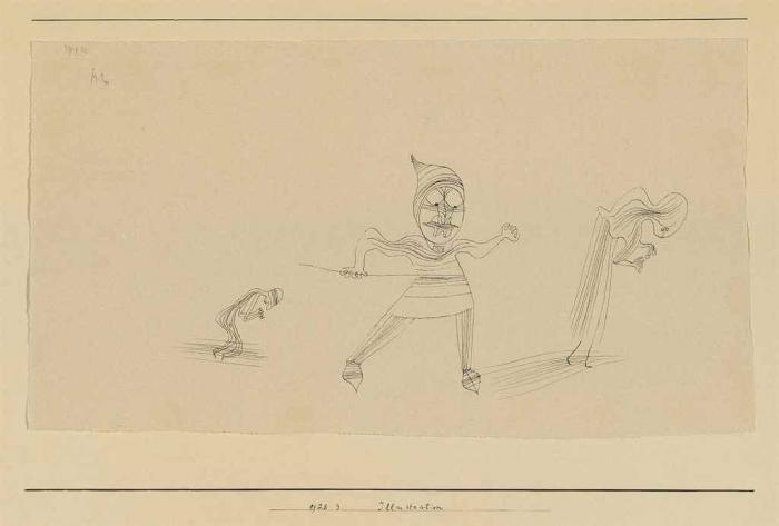 Paul Klee-Illustration-1928
