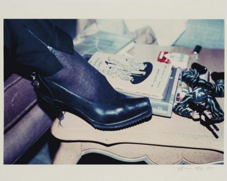 Richard Prince-Shaun Calley's Shoe, Chateau Marmont, Los Angeles, Calif., Winter 1990-1995
