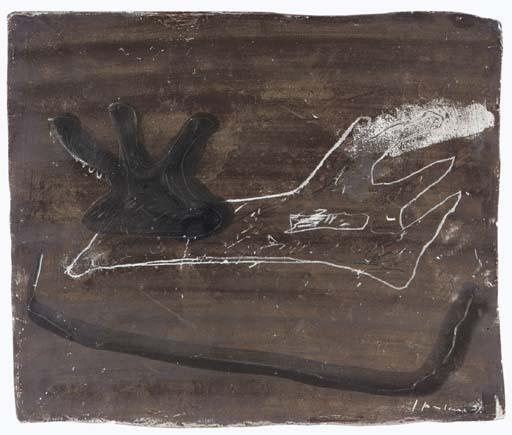 Lucio Fontana-Tavoletta graffita-1931