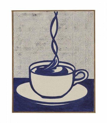 Roy Lichtenstein-Cup of Coffee-1961