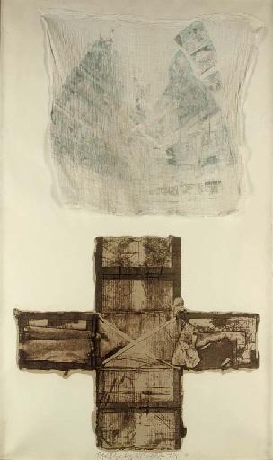 Robert Rauschenberg-Robert Rauschenberg - Egyptian Series-1974