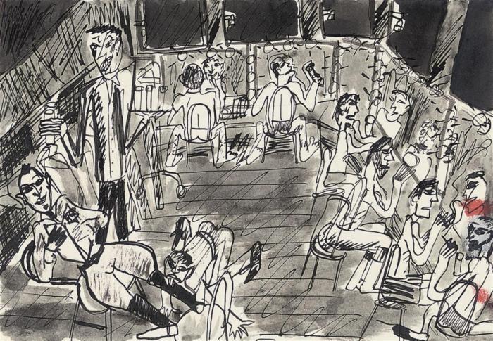 Peter Doig-Theatre Dressing Room-