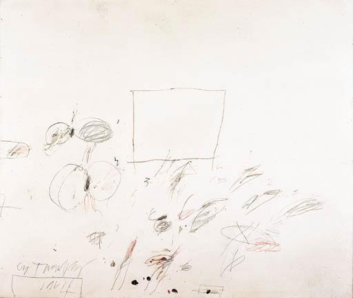 Cy Twombly-Munich-1964