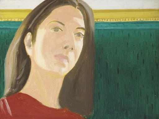 Alex Katz-Green Couch-1970