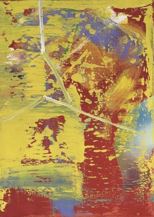 Gerhard Richter-Abstraktes Bild 520-1 (Abstract Painting 520-1)-1983