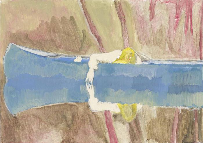 Peter Doig-Canoe Lake-1999