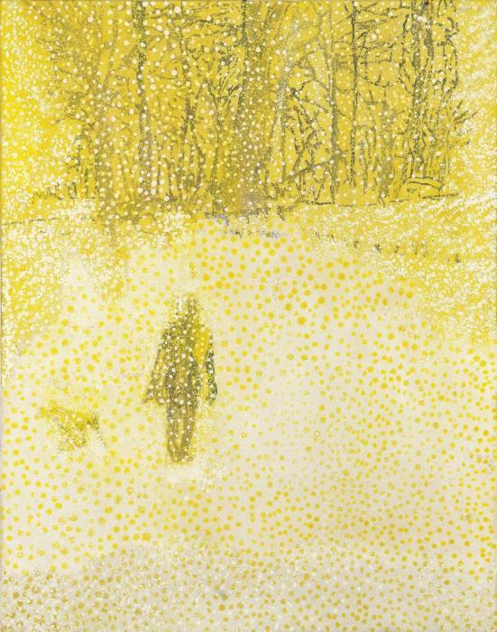 Peter Doig-White Out-1992