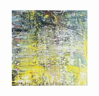 Gerhard Richter-Cage Grid (Single Part D)-2011