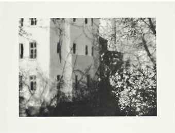 Gerhard Richter-Besetztes Haus (Squatters' House)-1990