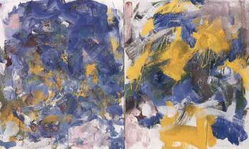Joan Mitchell-Dyptich-1987