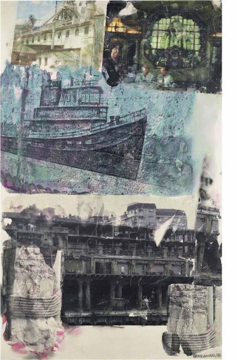 Robert Rauschenberg-Robert Rauschenberg - Ghost Ship Homecoming-1998